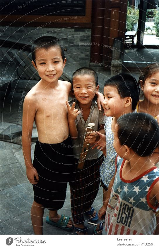 Child Vacation & Travel Group China Tramp Asians Chinese