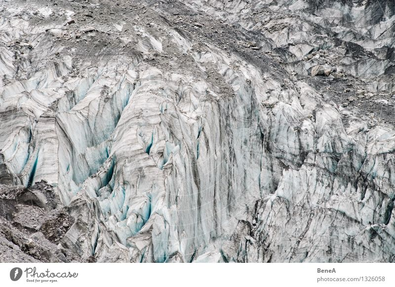 glaciers Environment Nature Landscape Elements Sand Water Winter Climate Climate change Ice Frost Snow Alps Mountain Snowcapped peak Glacier Canyon Old