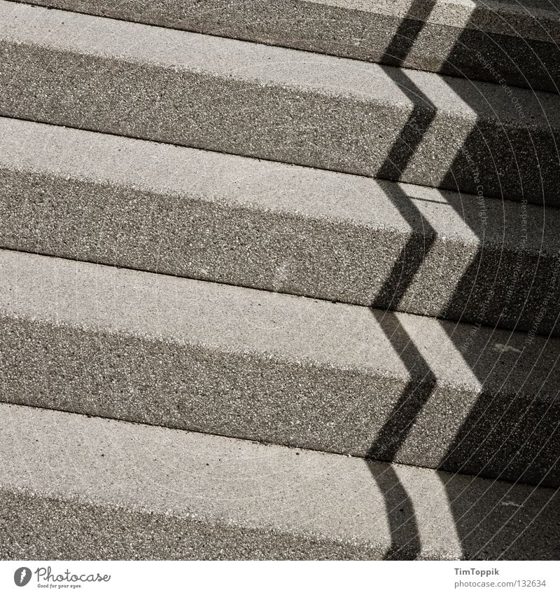 stair study Light Dark side Stairs Pattern Career Shadow Darken Diagonal Parallel Sharp-edged Corner Traffic infrastructure shadow patterns climb stairs