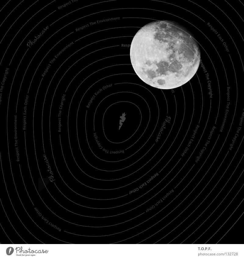 6/7 full Night Dark Astronomy Round Celestial bodies and the universe Volcanic crater Sky Moon Alcohol-fueled moon phase