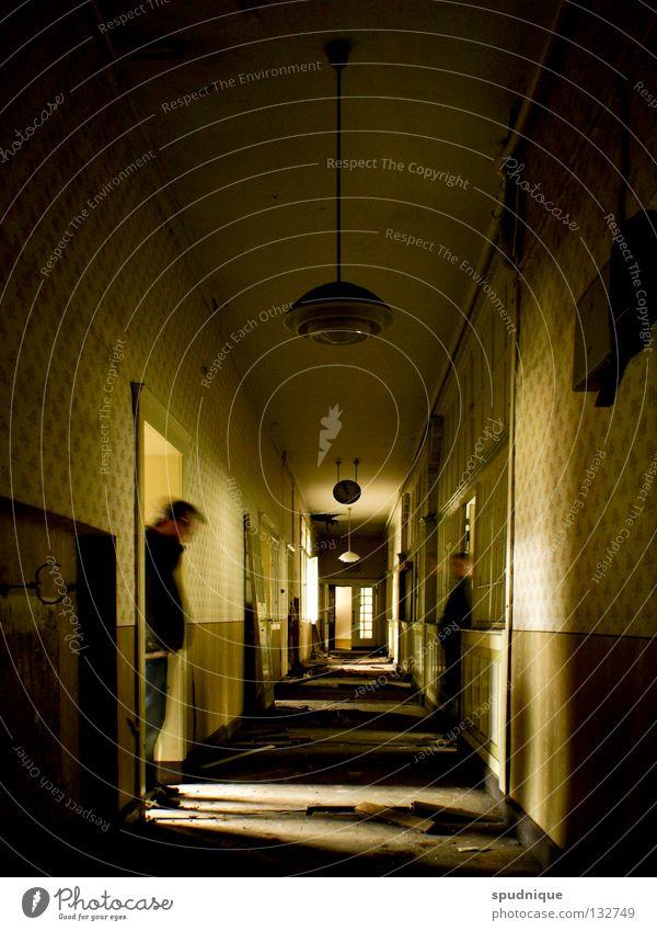 Old Calm Loneliness Door Empty Factory Derelict Ghosts & Spectres  Snapshot Past Corridor Administration Cancelation