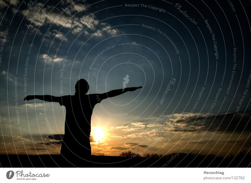 Sky Hand White Blue Sun Summer Clouds Black Emotions Warmth Air Arm Flying Free Physics Easy