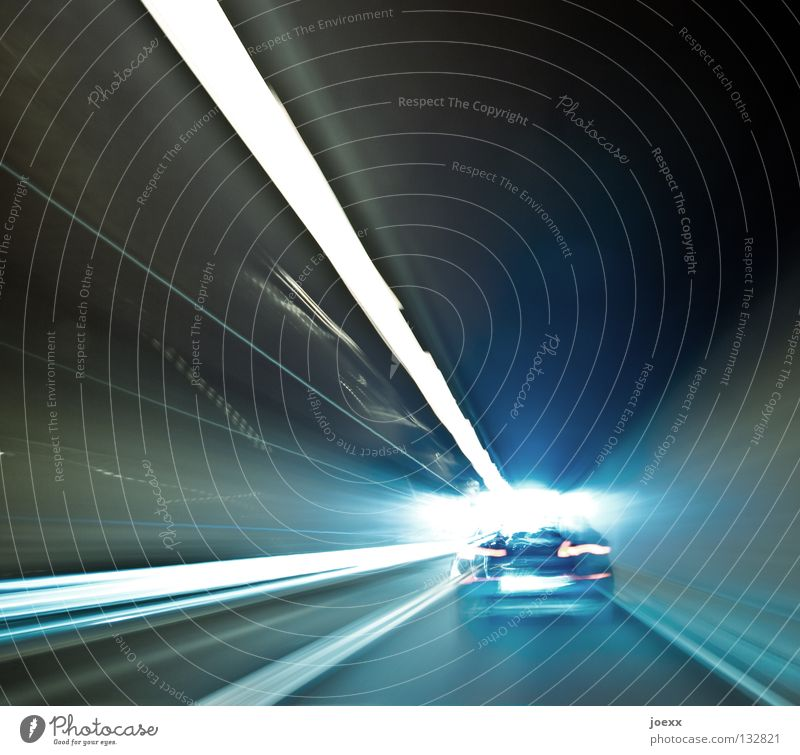 tunnel vision Highway Motoring Rush hour Dazzle Driving Speed Haste Boredom Laser Light Median strip Edge Curb Rear light Stress Tar Tunnel Overtake