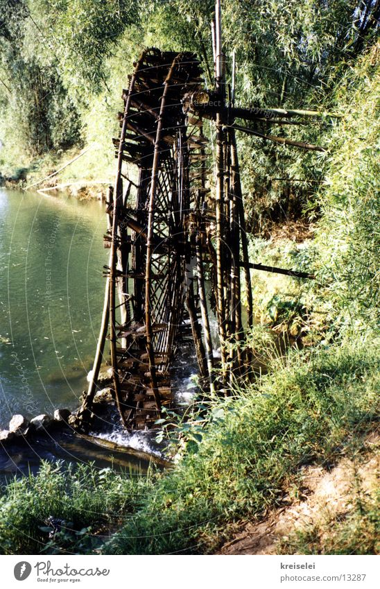 water wheel Water wheel Vacation & Travel Asia Los Angeles River Coast Energy industry