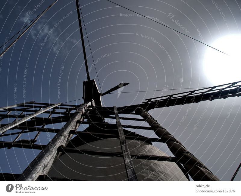 Old Sun Wind Crazy Desert Wing Derelict Spain Rotate Fight Muddled Mince Windmill Miller
