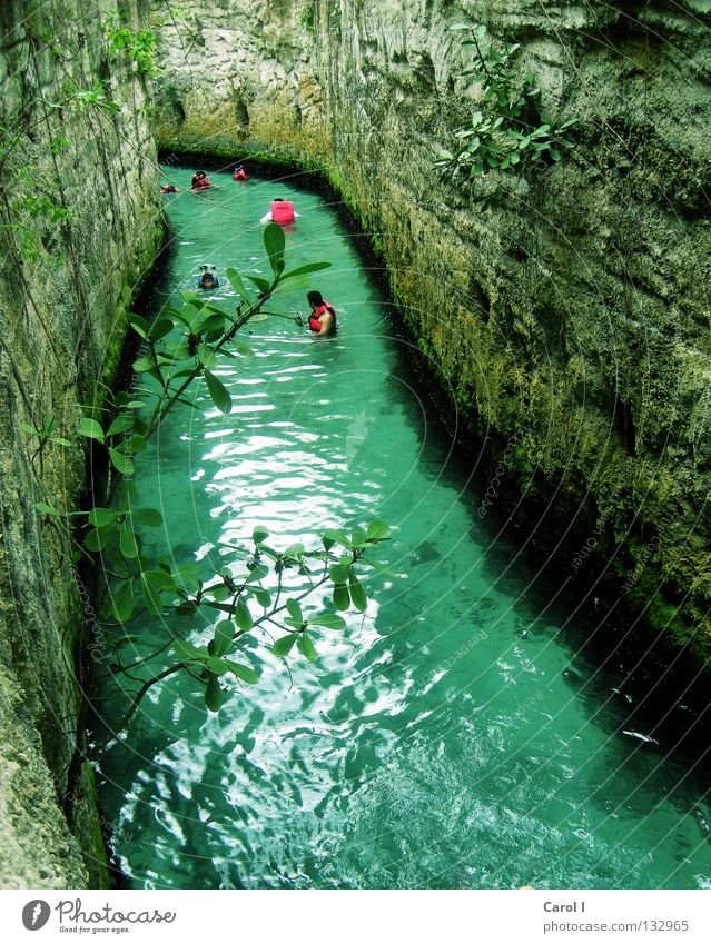 Blue Water Green Vacation & Travel Plant Joy Cold Sports Playing Stone Park Swimming & Bathing Pink Fresh River Dive