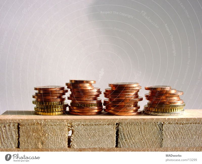 Freedom Success Money Bench Services Luxury Rich Euro Stack Gravel Bleak Financial Industry Coin Ashes Copper Cent
