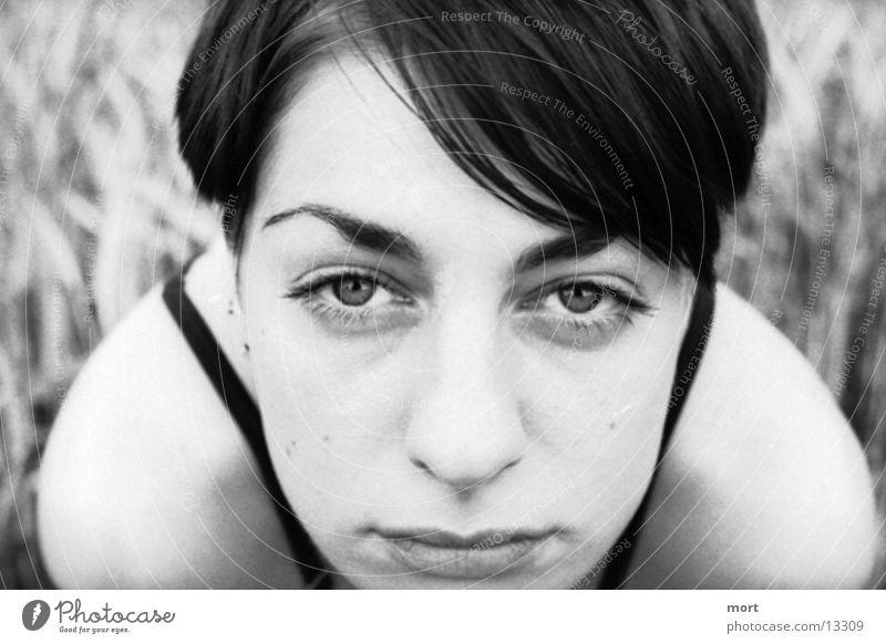 Woman Human being Eyes