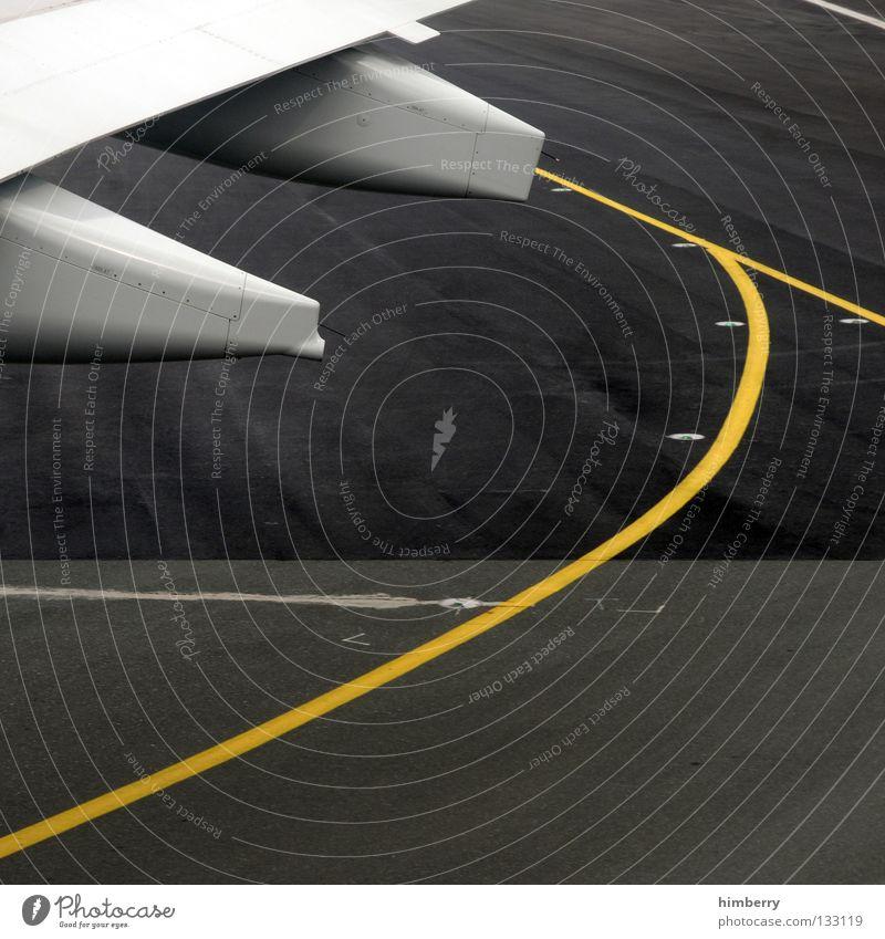 Airplane Aviation Airplane takeoff Wing Airport Departure Tank Runway