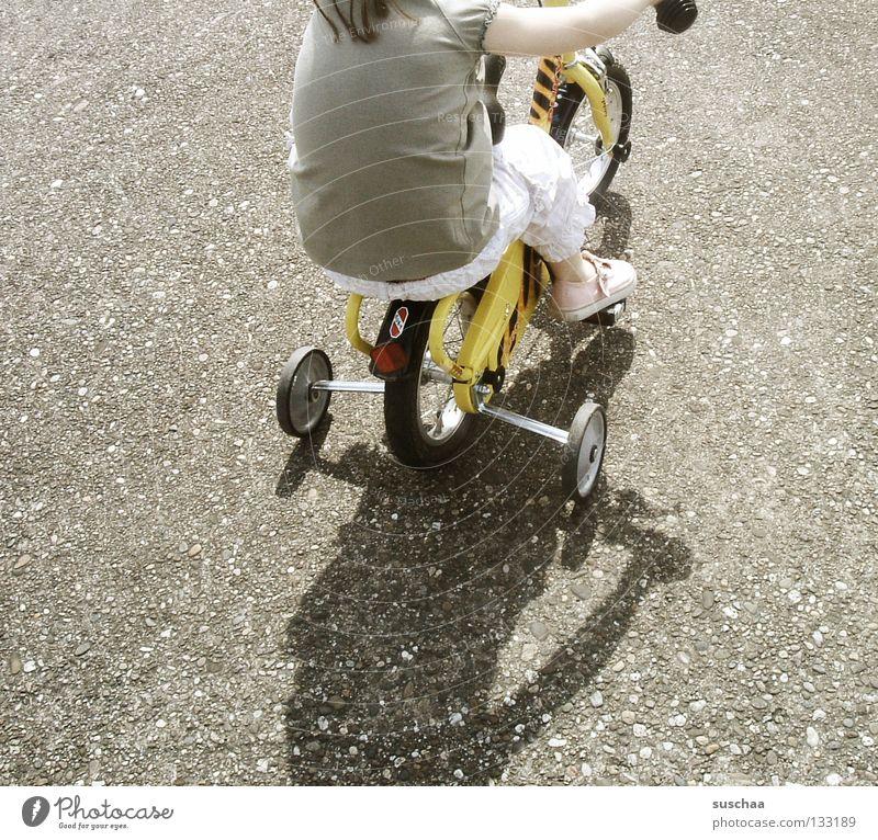 Child Girl Joy Street Small Sit Driving Leisure and hobbies Asphalt Brave Toddler Cycling Brash Freestyle Stunt
