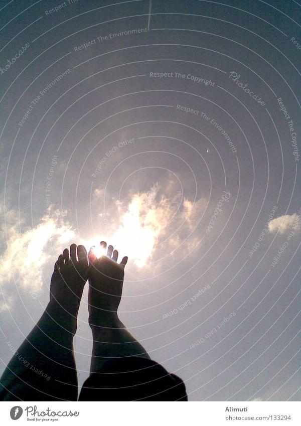 Sky Joy Vacation & Travel Clouds Freedom Feet Legs