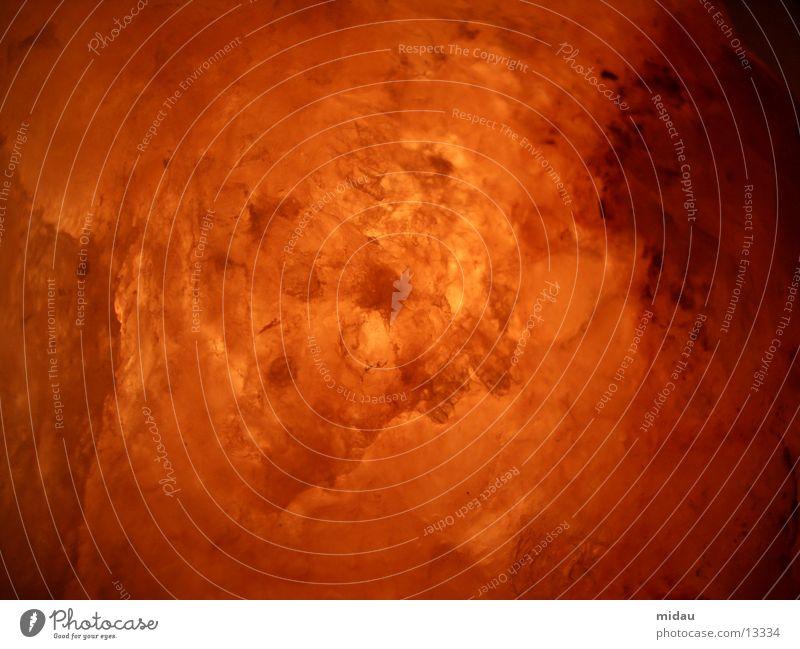 Red Yellow Stone Lamp Warmth Orange Blaze Crystal structure Salt Explosion