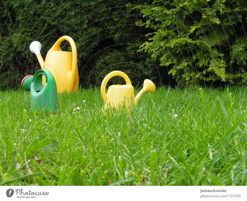 "<font color=""#ffff00"">-=There´s=- proudly presents Jug Watering can Green Yellow Meadow Grass Cast Gardener Gardening Toys Growth Wet Small Large Walking"