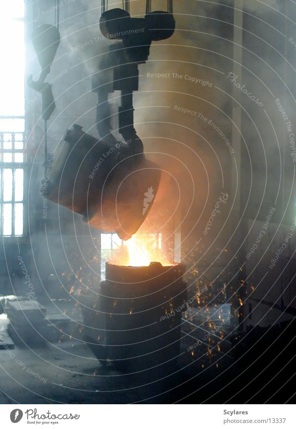 Warmth Industry Physics Steel Iron Embers Production