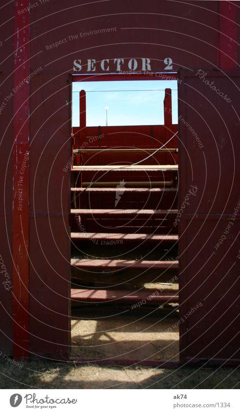 Sky Red Door Stairs Leisure and hobbies Gate Arena Bullfight