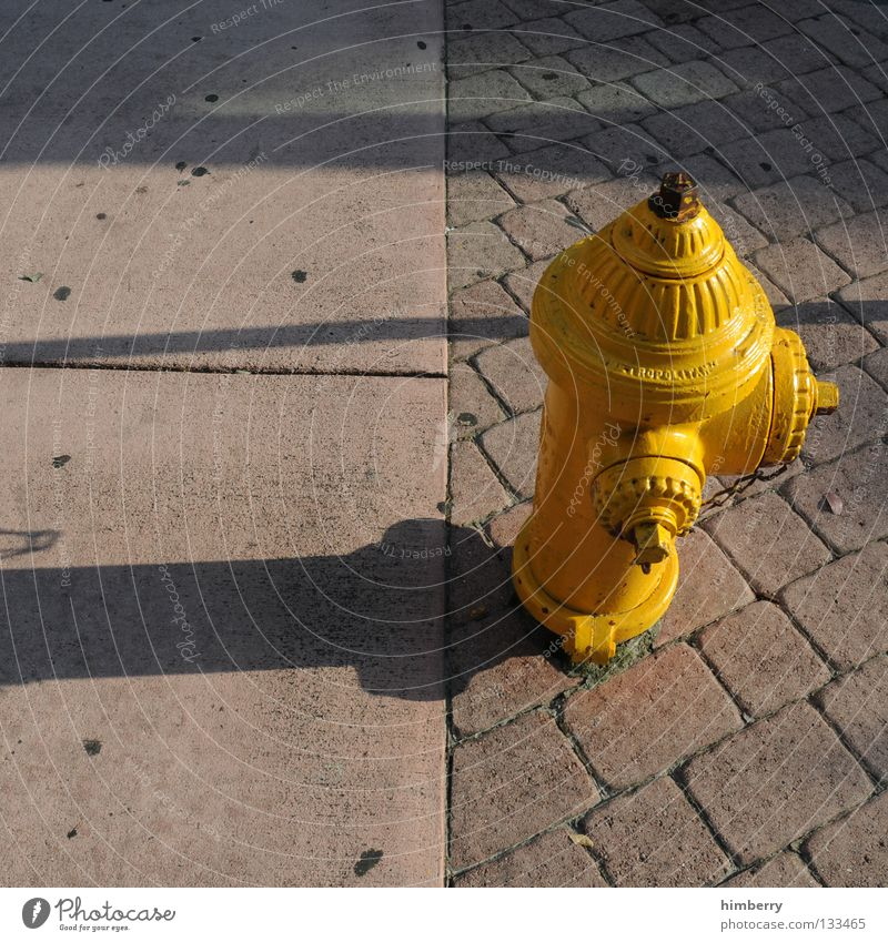 Water Street Stone Blaze Concrete USA Asphalt Americas Sidewalk Cobblestones Paving stone Fire department Fire engine Connection Curbside