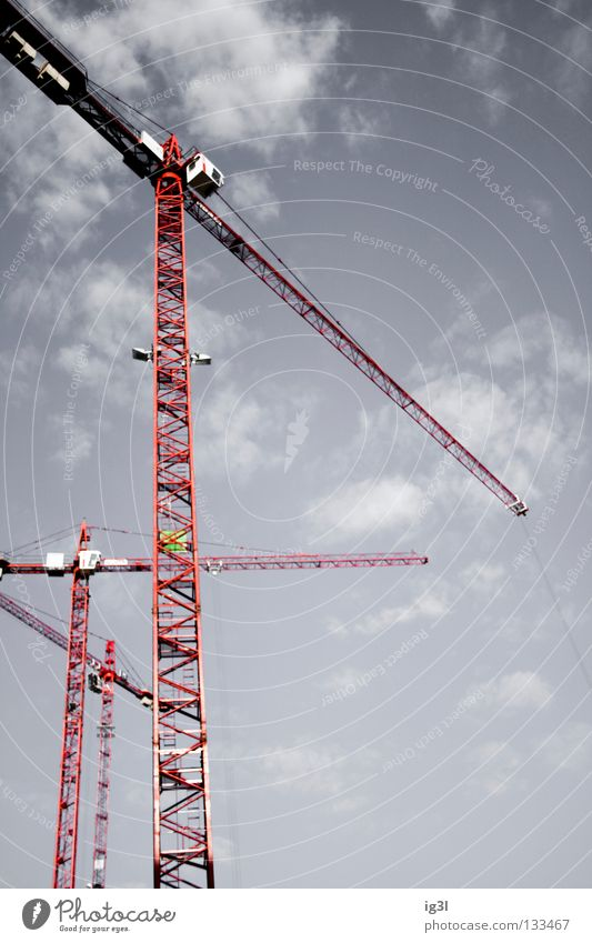 The Infinite Story Construction site Crane Crane operator Geometry Infinity Continuous Transience Replication Renewal Quit Credit Arrange Invent