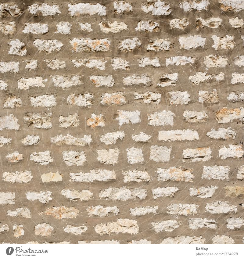 bricked-up Wall (barrier) Wall (building) Facade Stone Concrete Historic Natural Safety Stagnating Attachment Seam Background picture Structures and shapes