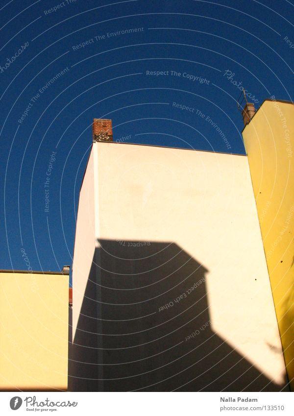 Sky Blue Summer Colour Wall (building) Warmth Bright Physics Living or residing Backyard