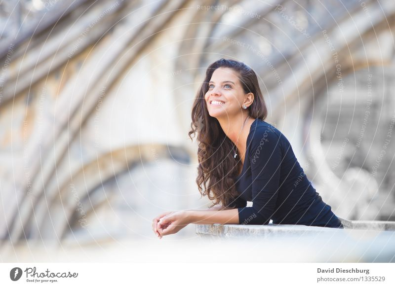 Human being Vacation & Travel Youth (Young adults) Young woman Hand Joy 18 - 30 years Face Adults Life Architecture Feminine Happy Head Contentment Tourism