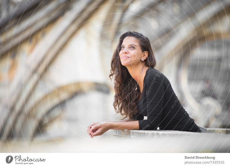 Human being Vacation & Travel Youth (Young adults) City Beautiful Young woman Calm 18 - 30 years Black Face Adults Architecture Feminine Happy Head Brown