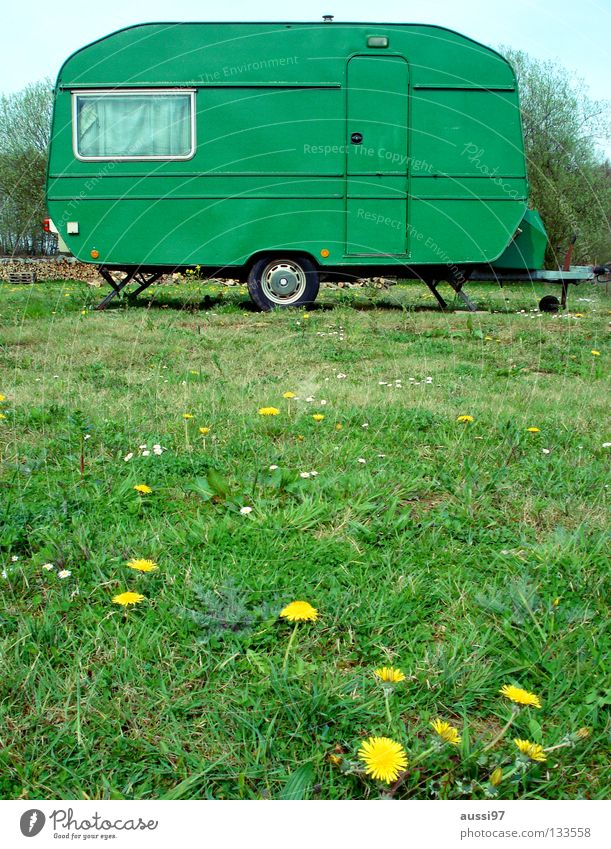 Vacation & Travel Leisure and hobbies Camping Carriage Mobile home Caravan Camping site