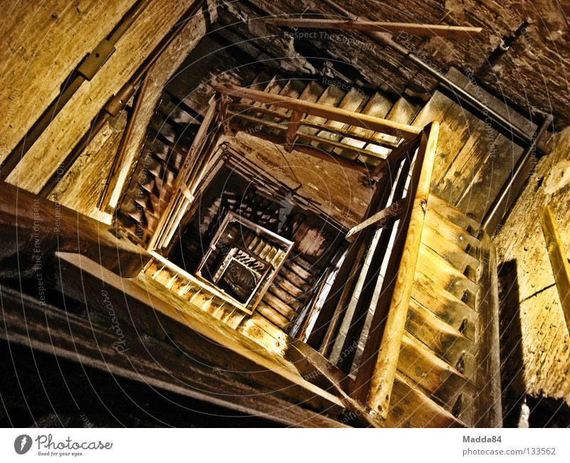 Wood Building Stairs Tower Monument Historic Deep Sudden fall Upward Landmark Effort Snail Spiral Descent Perspire
