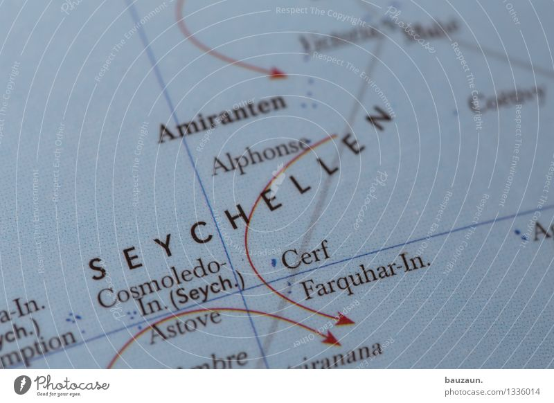 seychelles. Vacation & Travel Tourism Adventure Far-off places Summer Summer vacation Island Beach Ocean Seychelles Africa Line Arrow Globe Relaxation