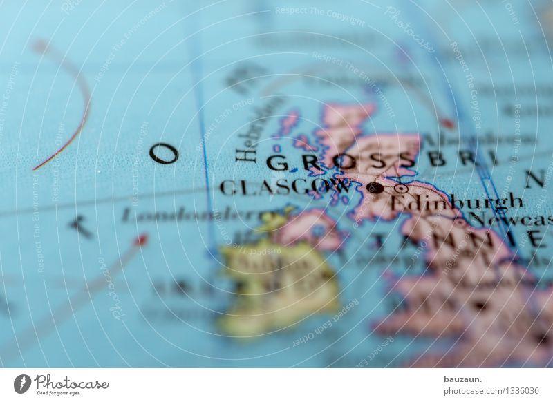Great Britain. Vacation & Travel Tourism Trip Adventure City trip Ocean Island Scotland England Northern Ireland Europe Line Globe Politics and state Logistics