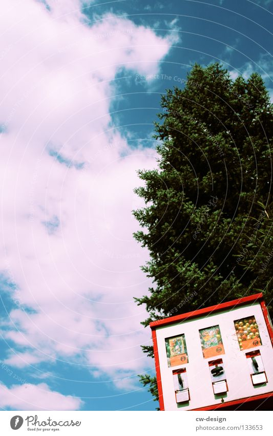 Photos of everyday life Clouds in the sky Gumball machine