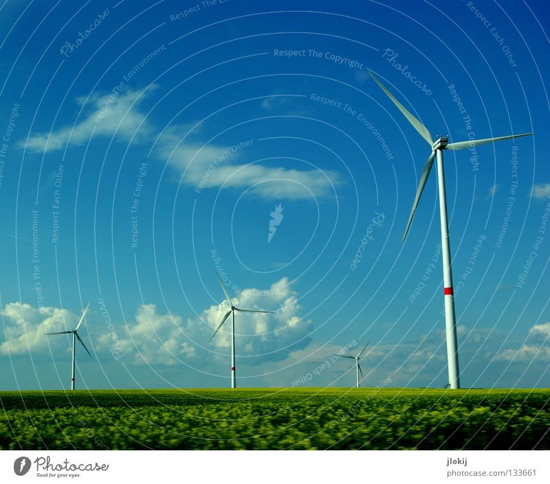 Sky Meadow Grass Air Power Field Industry Energy industry Electricity Lawn Net Clarity Wind energy plant Company Rotate Sporting event