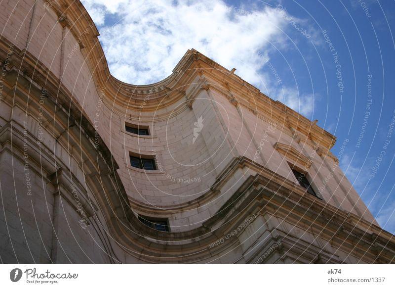 Sky Clouds Religion and faith Waves Lisbon Monastery House of worship