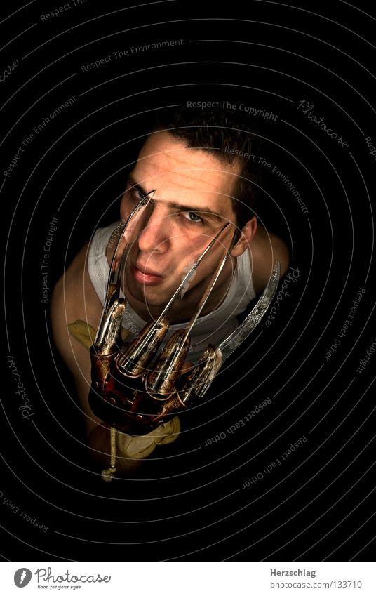 Eyes Black Fear Skin Nose Ear Tool Film industry Point Creepy Cinema Blood Panic Media Scissors Frightening