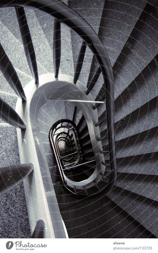 ::TREPPTRAPP:: Far-off places Gray Stairs Staircase (Hallway) Historic Detail Handrail Hollow elson