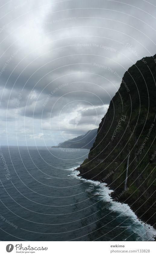 Sky Nature Vacation & Travel Water Plant Tree Ocean Clouds Dark Mountain Coast Freedom Stone Bright Island Europe
