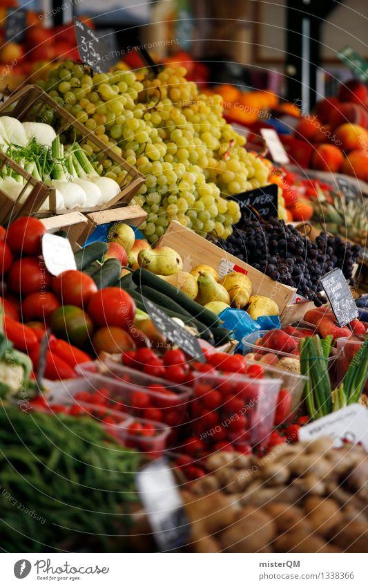 Weekly market II Food Vegetable Lettuce Salad Fruit Apple Orange Nutrition Organic produce Esthetic Markets Marketplace Market stall Market day Versatile Offer