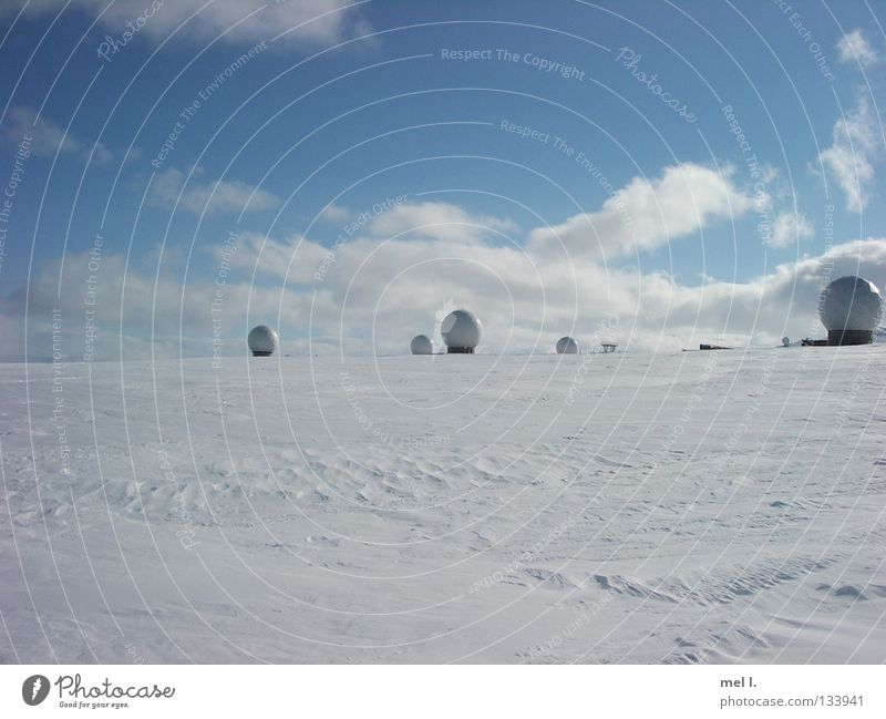 snow country White Clouds Winter Cold Snow Sphere Blue Far-off places