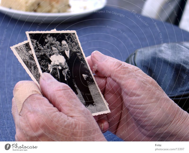 Woman Hand Old Photography Memory