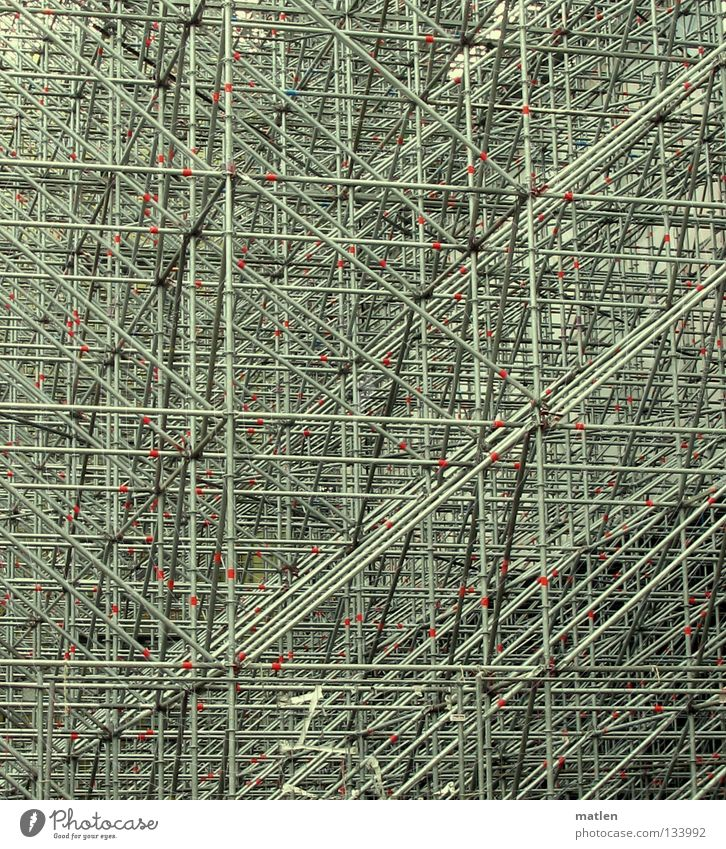 atomium Steel Billboard Construction Detail Scaffold Middle mega back wall