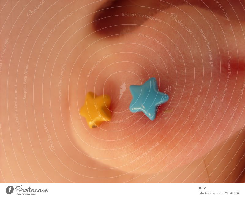 Blue Joy Yellow Skin Star (Symbol) Ear Listening Luxury Jewellery Turquoise Neck Vulnerable Ear lobe