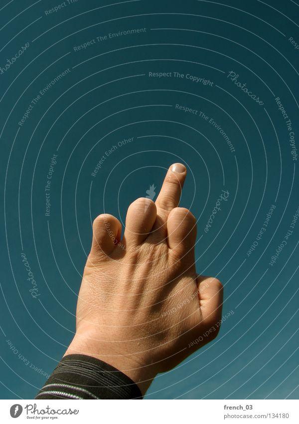 Nonverbal Communication Saxony-Anhalt Middle finger Hand Fingers Affront Gray Dark Stupid Cynical Motoring Compromise Shirt Stripe Screw you Lick Gesture