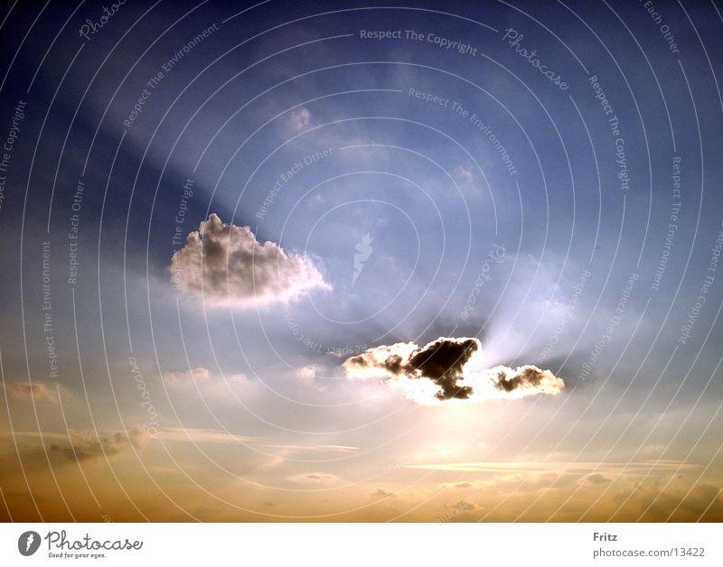 Sky Sun Clouds Dusk