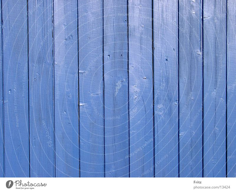 Blue Background picture Things Fence Wooden board