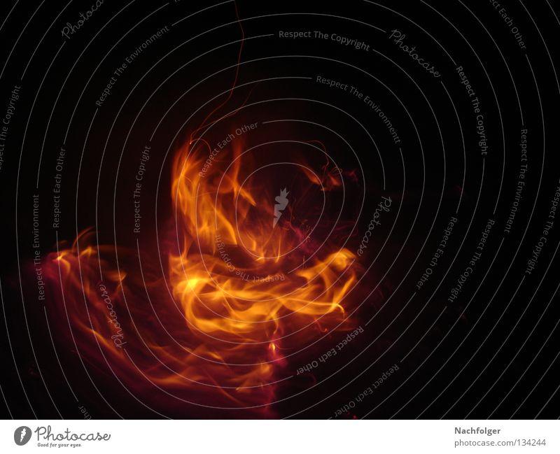 Dark Warmth Blaze Fire Physics Burn Flame