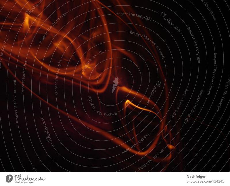Dark Warmth Blaze Fire Physics Burn Glow