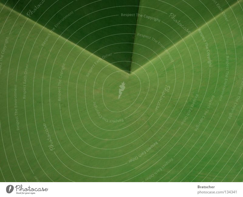 Green Background picture Corner Wrinkles Geometry Graphic Symmetry Envelope (Mail) Vanishing point Folded At right angles Building line