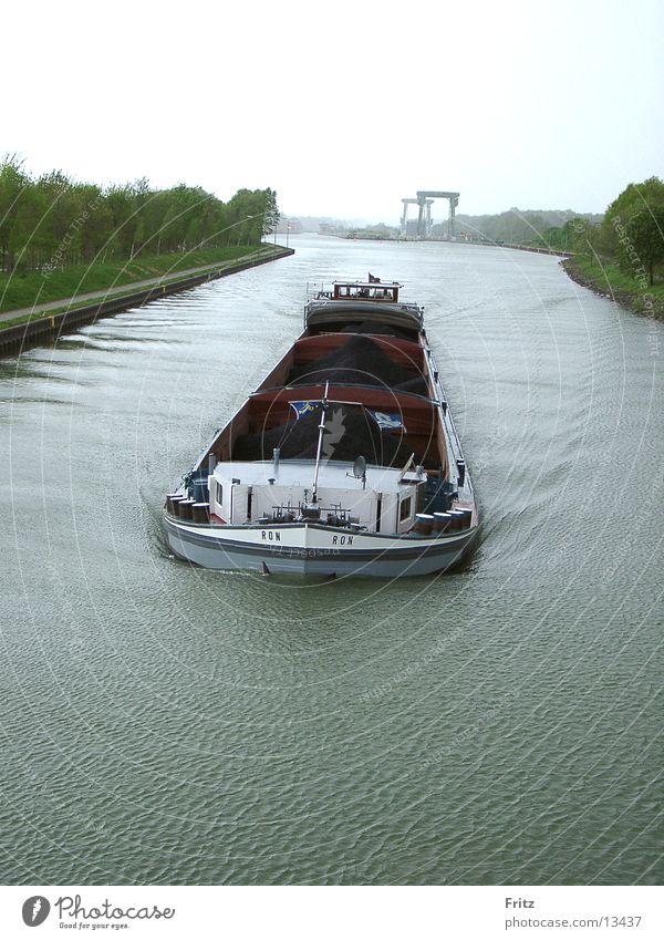 full-power-front Watercraft Navigation Motor barge Sewer