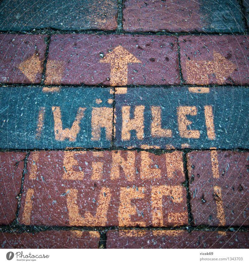 inscription Street Lanes & trails Sign Belief Religion and faith Uniqueness writing Inscription Lettering Figure of speech Symbols and metaphors pavement Arrow
