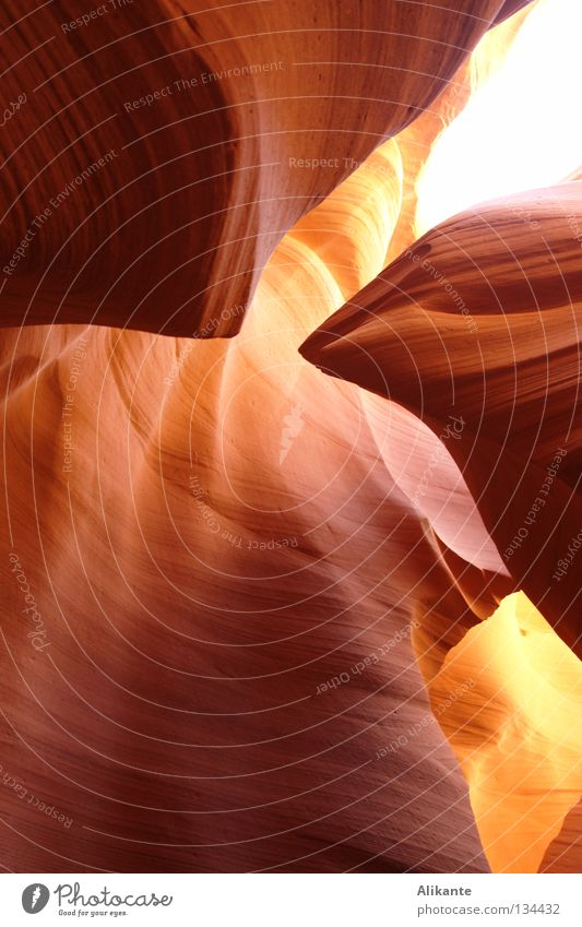 focal point Antelope Canyon Americas USA Arizona Formation Red Yellow Elegant Fantastic Light Flow Stone Fiery Solidify Emotions Respect Sublime Page Lake Powel