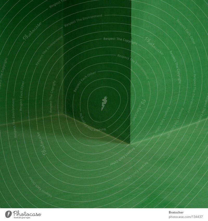 Green Wall (building) Corner Floor covering Club Concentrate Blanket Three-dimensional Vertigo
